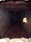 Hõreda mõisa jääkeldri sisevaade, lõunapoolne hoidiste ruum. K. Klandorf 13.11.2012