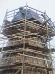15837 Kuie tuuleveski , vaade läänest veskikehandi ülemisel osale 2012 tööd lõpetamisel, 15.11.2012 Anne Kaldam