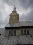 Ruhnu kiriku torn. Foto: Rita Peirumaa, 31.juuli 2012.