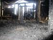 15053 Jäneda mõisa vesiveski, vaade II korruselt, hoone kirdepoolsele osale (põleng24-25.11.12 )Anne Kaldam 27.11. 2012