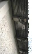 Jäneda mõisa ait (15048), vaade hoone sarikaotstele. Foto: M.Abel, kuupäev 27.11.12