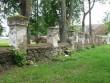 Vana-Antsla mõisa piirdemüürid, 19 saj. Foto Tõnis Taavet, 01.08.2012.