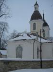 Nikolai kirik. Uus vaskplekk-katus. Foto: Rita Peirumaa, 18.12.12.