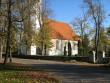 Haljala kirikaed, reg nr 5761. Vaade kirikule ja kirikaiale edelast. Foto: Ingmar Noorlaid, 07.10.2010.