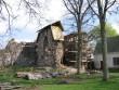 Vaade konserveeritud nurgatorni varemetele Foto Anne Kivi 02.05.2008