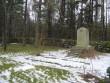 II ms hukkunute ühishaud. Lümanda kalmistu. Foto: Rita Peirumaa. 31.01.2013