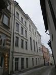 Vaade hoonele Pühavaimu tänava poolt. Foto: Helen Kallaste, 04.02.2013
