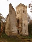 Lehtse mõisa varemed, reg nr 15055, vaade tornile  Autor I. Raudvassar  Kuupäev  28.09.2007