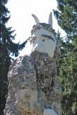 Skulptuur «Kalevipoeg», M. Karmini koopia N. v. Glehni järgi, 1990 (graniit, segu). Pärast restaureerimist 2011. Foto: Marek Lill, 01.08.2011