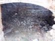 Hõreda mõisa viinaaida idapoolse osa müürivaringud. Foto K. Klandorf 28.03.2012.