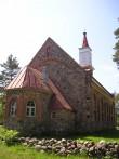 Häädemeeste kirik. Foto: S. Sombri; 14.06.2006