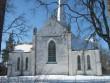 Tarvastu kiriku idasein. Foto: Anne Kivi, 21.03.2013