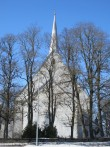 Kadrina kirik.15661. vaade idast  09.04.2013 Anne Kaldam