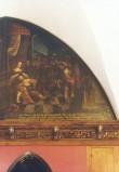 """Lünettmaal """"Simson ja Delila"""", J. Aken, 1667 (õli, lõuend) Foto: Jaanus Heinla 2002"""