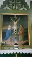 """Altarimaal """"Kristus ristil"""", C.Walther, 1860 (õli, lõuend) Foto: Sirje Simson 2004"""