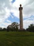 Aleksander I ja Napoleoni sõdade mälestusmärk, reg. nr. 5801. Vaade idast. Foto: M.Abel, kp. 27.05.13