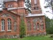 Vaade Kärsa kirikule õuepoolsest küljest.  14.05.2013 Viktor Lõhmus