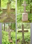 Simuna kalmistu, reg. nr. 5752. Vaateid vanadele kivist hauatähistele. Foto: M.Abel, kp. 30.05.13