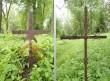 Simuna kalmistu, reg. nr. 5752. Vaateid kohalike külaseppade sepisristidele. Foto: M.Abel, kp. 30.05.13