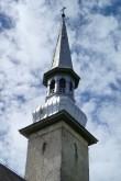 Simuna kirik, reg. nr. 15621. Vaade tornile. Foto: M.Abel, kp. 30.05.13