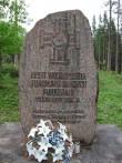 Vabadussõjas hukkunud tundmatu sõduri haud mälestussambaga. Foto Tõnis Taavet, 21.05.2013.