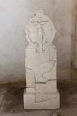 Kassomehs Hansu hauakivi. 1632 (lubjakivi) Foto: Tõnis Nurk 18.06.2013
