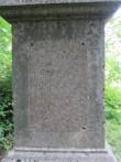 15629 Aaspere mõisa Dellingshausenite mälestussammas.tekstide osa.  foto 08.07.2013 Anne Kaldam