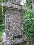 15629 Aaspere mõisa Dellingshausenite mälestussammas.teksti plaat foto 08.07.2013 Anne Kaldam