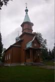 Kuremäe kloostri kalmistu kirik, 19.saj. Vaade loodest. Foto: Kalle Merilai 02.08.2013.a.