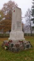II maailmasõjas hukkunute ühishaud, reg. nr 5790. Foto: M.Abel, kp. 11.10.13