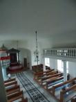 Kärla kiriku siseruumi vaade rõdult.  Foto: Rita Peirumaa, 25.10.2013