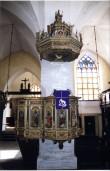 Kantsel, annetatud 1597 (puit, polükroomia). Üldvaade. Foto: J. Heinla, 2002.