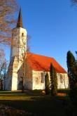 Haljala kirik, reg. nr 15647. Vaade lõunast. Foto: M.Abel, kp 22.10.13