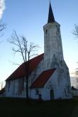 Haljala kirik, reg. nr 15647. Vaade loodest. Foto: M.Abel, kp 22.10.13