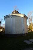 Haljala kirikuaia kabel 2, reg. nr 15650. Vaade idast. Foto: M.Abel, kp 22.10.13