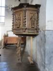 16932 Kantsel, J.V.Rabe, 1730 (polükroomia, puit) Haljala kirikus. foto: Anne Kaldam 08.11.2013