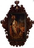 B. Rotterti portree-epitaaf (õli, puit). Pärast konserveerimist. Foto: J. Heinla, 2005.