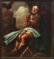 Apostel Peetruse kujutis pingirinnatisel, 1650 (õli, puit). Pärast konserveerimist 2004. Foto: J. Heinla, 2005.