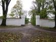 Puurmani mõisa peahoone väravad pärast restaureerimist Foto: Sille Raidvere  Kuupäev: 15.10.2009