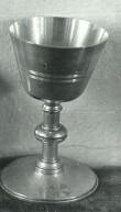 Karikas. 19. saj. (valge metall, graveeritud, kullatud) Foto: Paul Sorokin, 1977