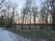 Järlepa mõisa park, peahoone tagune ala (vaade läänest). K. Klandorf 02.12.2013.