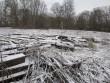 15714 Liigvalla mõisa park, näha läänepoolne pargiala, peahoone esine haljasala.  Foto 29.11.2013 Anne Kaldam