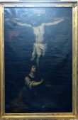Altarimaal «Kristus ristil», 18.-19. saj. (õli, lõuend) Foto: Jaanus Heinla, 2000