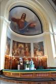 Altar ja altariaed, 19. saj. II pool (puit) Foto: Jaanus Heinla, 2000