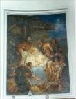 Altarimaal «Kristuse sündimine», K. T. v. Neffi järgi S. v. Kügelgen, 1889 (fresko) Foto: Jaanus Heinla, 2000