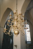 Kroonlühter kahekümne nelja tulega. 1719 (messing) Foto: L.Krigoltoi, 2003