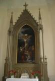 Altar ja altariaed. Altarisein. 19. saj. (puit, õlivärv) Foto: S.Simson, 22.05.2007