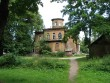 Villa Mon Repos fassaad enne restaureerimist