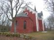 Halliste kirikuaed läänest. Foto: Anne Kivi, 14.02.2014.