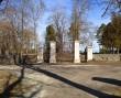 Kunda vana kalmistu, reg. nr 5768. Vaade  kalmistu peaväravale. Foto: M.Abel, kp. 12.03.2014